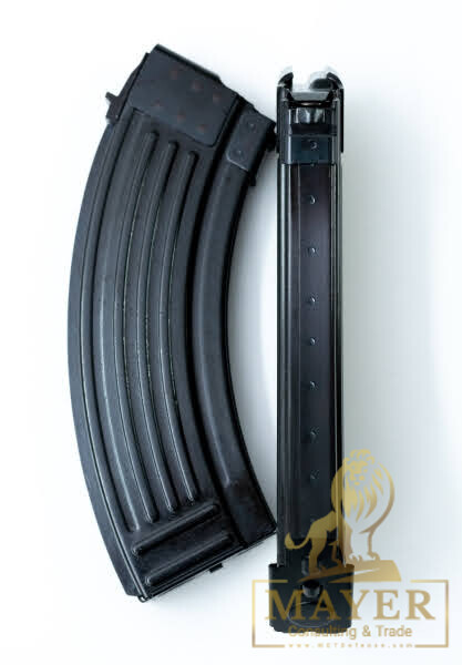 Croatian AK 7.62x39 steel magazines for 30 rounds