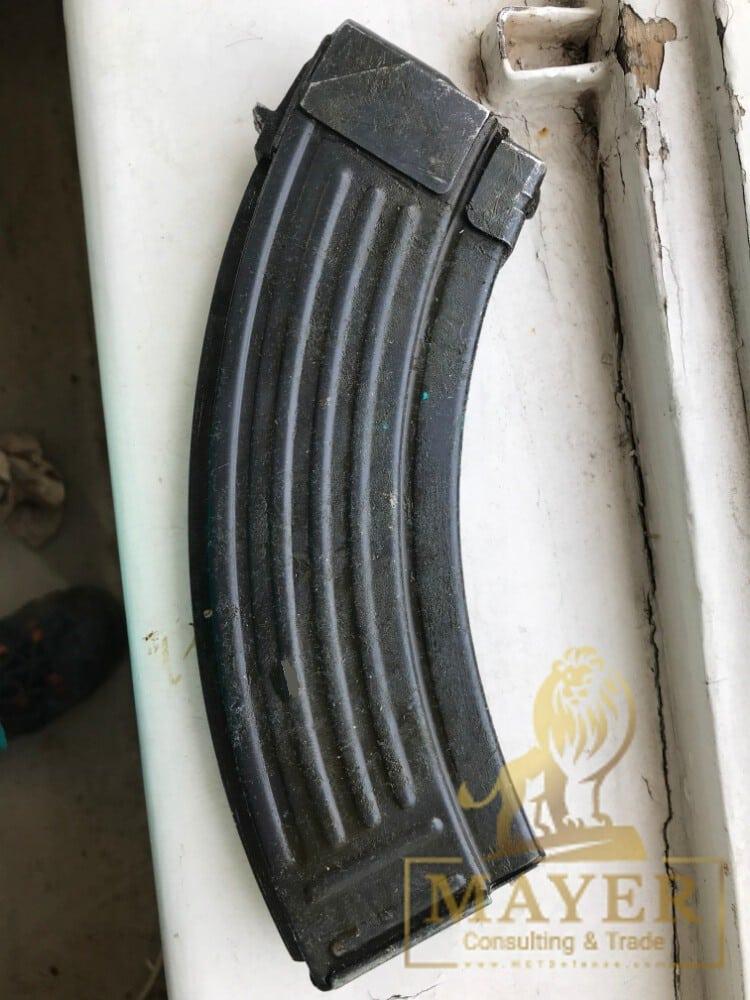 Yugoslavian military surplus AK M70 steel magazines