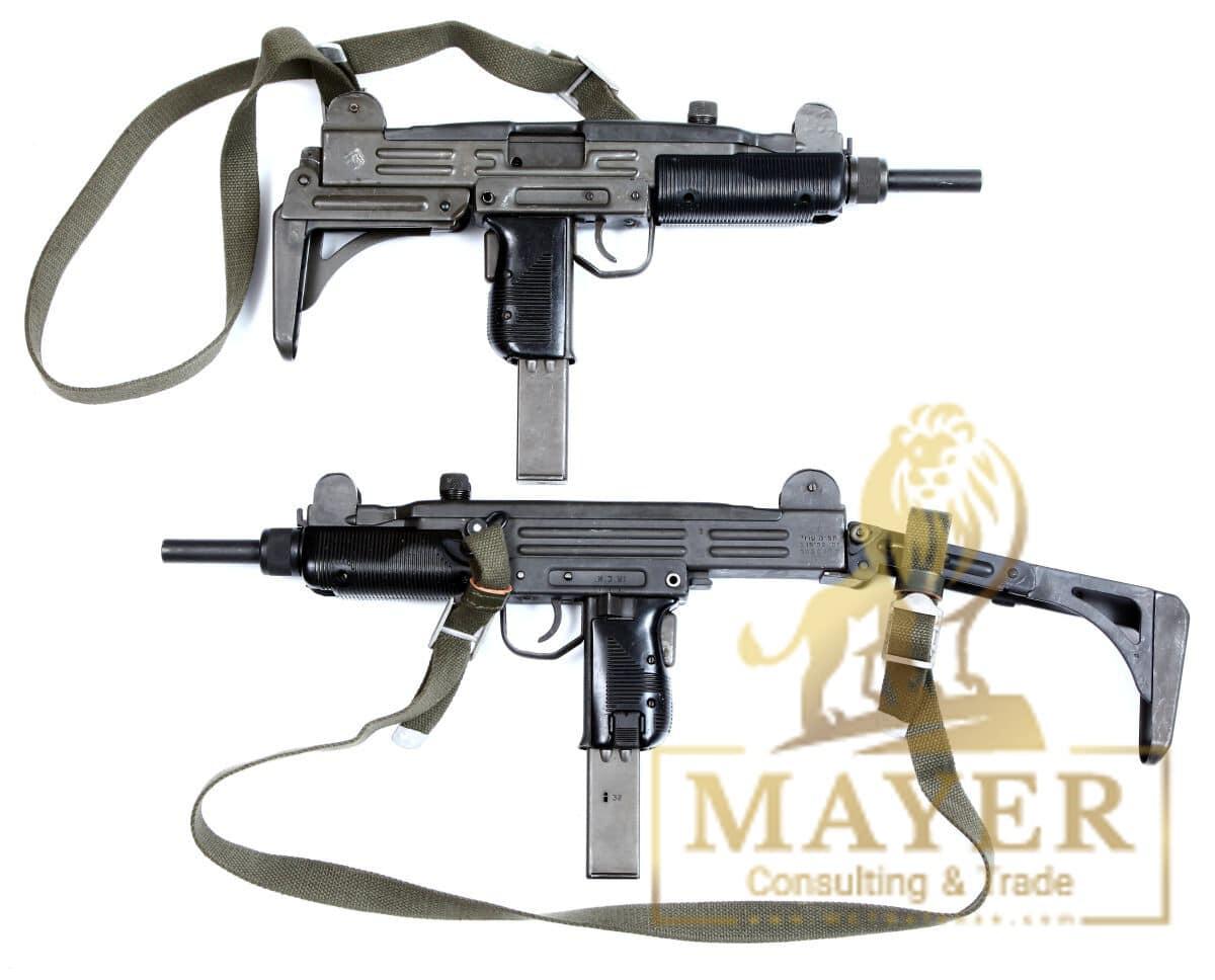 Uzi Sub-Machine Gun Folding Stock Model